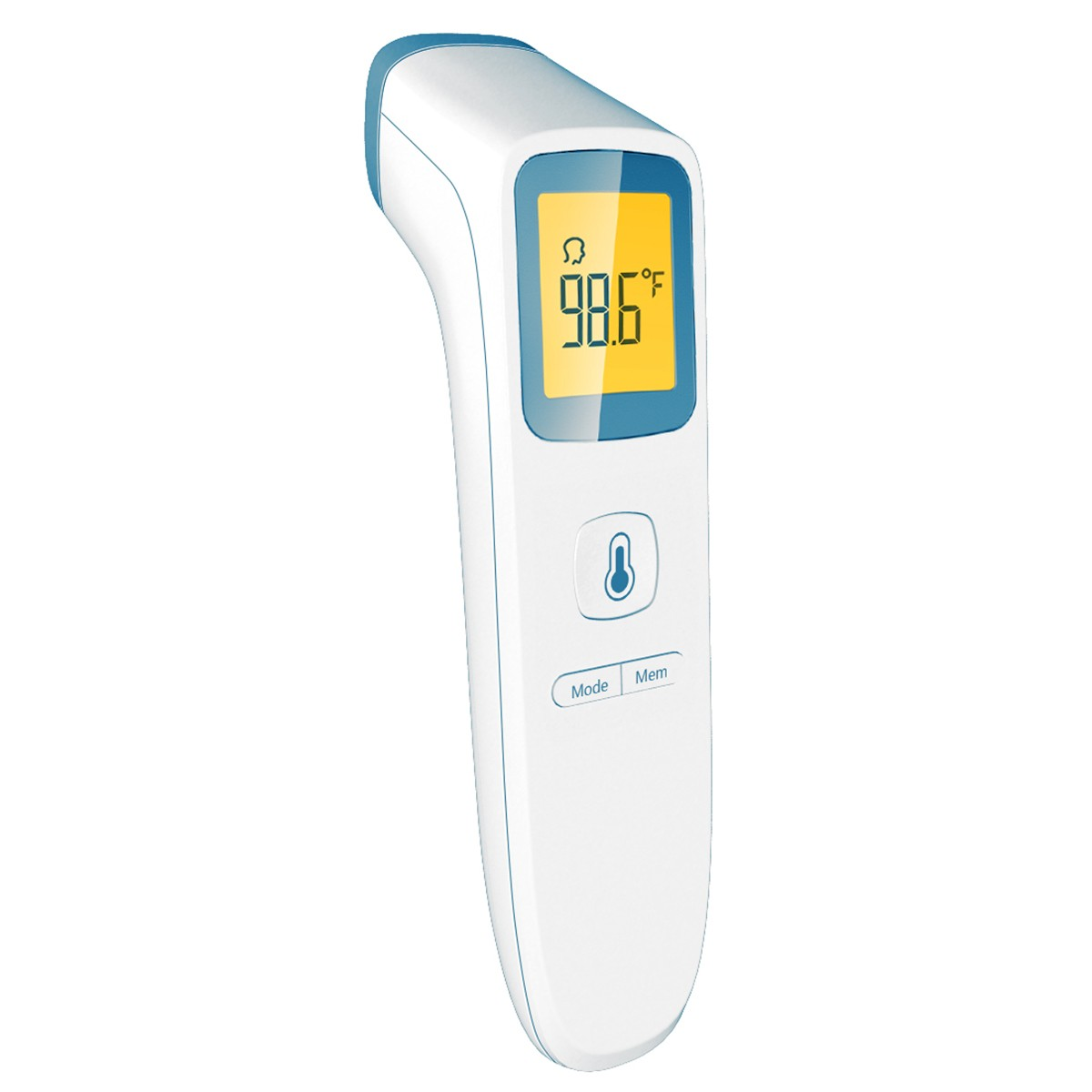 2019 new generation IR200 professional forehead thermometer with unique distance sensing technology