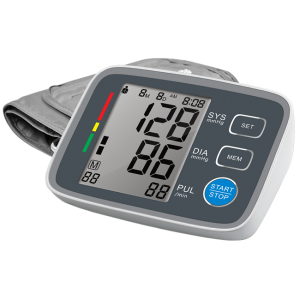 Automatic blood pressure monitor with pulse meter healthcare devices