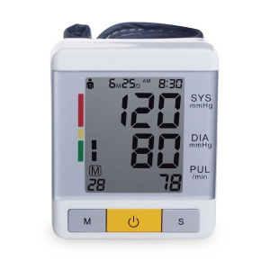 High Quality CE FDA Portable Digital Wrist Blood Pressure Monitor